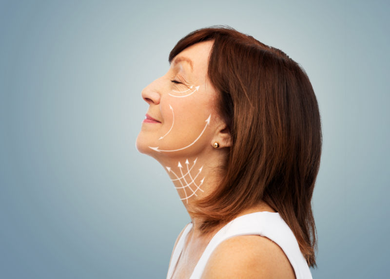 Give your skin a lift with a none surgical facelift from Perfect Harmony