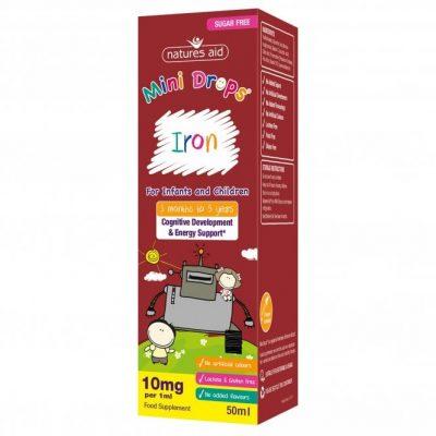 Iron Mini Drops for Kids